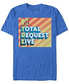 MTV Men's Total Request Live Logo Short Sleeve T-Shirt