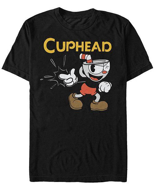 Cuphead Men's Gotcha Short Sleeve T-Shirt