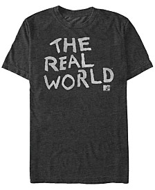MTV The Real-World Logo Short Sleeve T-Shirt