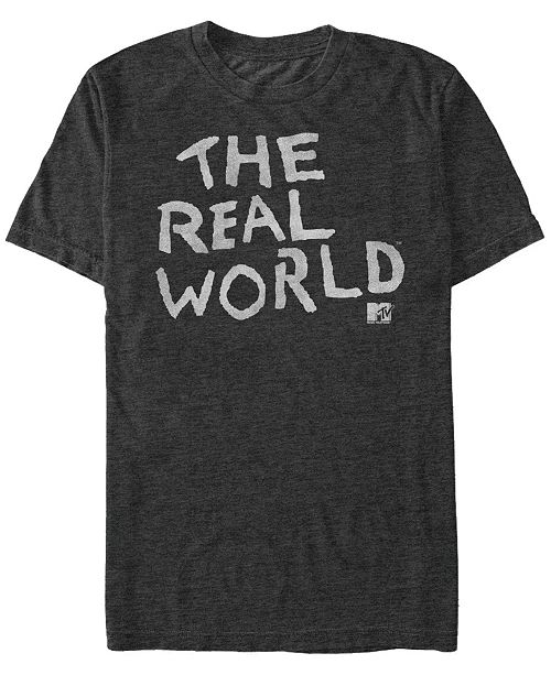 MTV The Real-World Logo Short Sleeve T-Shirt