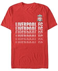 Liverpool Football Club Men's Fading Logo Short Sleeve T-Shirt