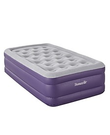 Raised Coil in Coil Designed Comfort Air Bed Mattress, Twin