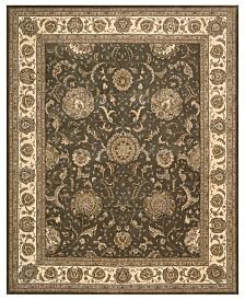 Nourison Rugs, Wool & Silk 2000 2206 Slate