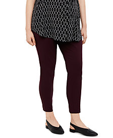 Motherhood Maternity Plus Size The Maia Secret Fit Belly Skinny Leg Ankle Pants
