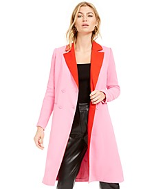Becca Tilley x Double-Breasted Duster Jacket, Created For Macy's