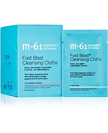 m-61 by Bluemercury	Fast Blast Cleansing Cloths, 20-Pk.