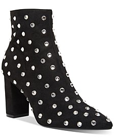 Elsie Studded Evening Booties