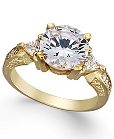 Gold-Tone Crystal Ring, Created For Macy's