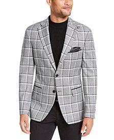 Tallia Men's Slim-Fit Plaid Sport Coat