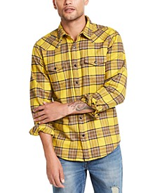 Men's Canopy Plaid Western Shirt