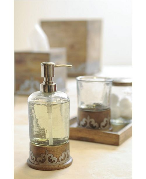 The GG Collection Metal Heritage Collection Pump Soap or Lotion Dispenser