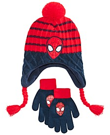 Big Boys 2-Pc. Heidi Hat & Gloves Set