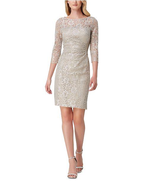Allover Lace Sheath Dress
