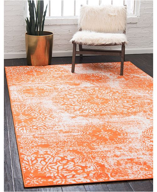 Rug Design Basha Bas7 Orange Area