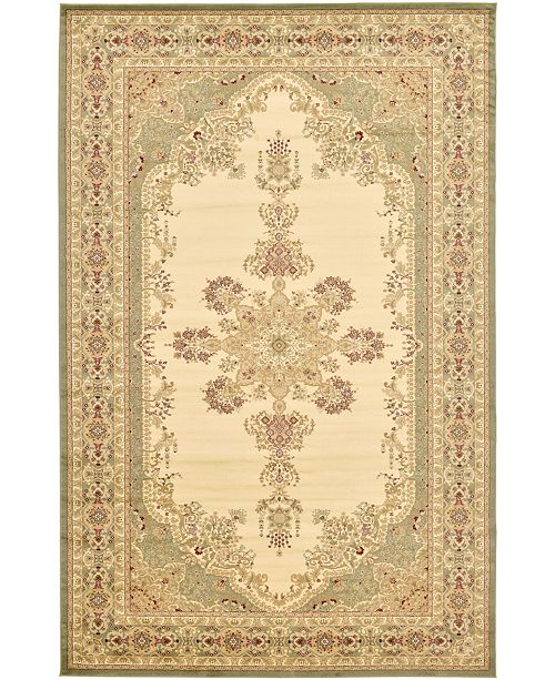 Bridgeport Home Belvoir Blv1 Ivory/Green Area Rug Collection