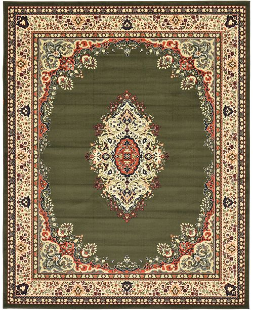 Bridgeport Home Birsu Bir1 Green Area Rug Collection