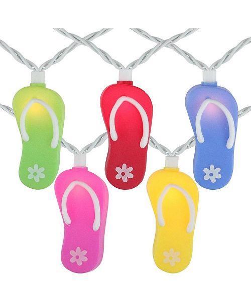 Northlight Summertime Flip Flop Novelty String lights
