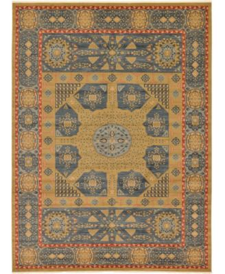 Wilder Wld3 Navy Blue 13' x 18' Area Rug