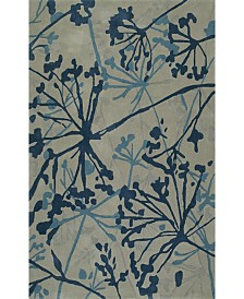 D Style Luka Luk54 Steel Area Rugs Collection