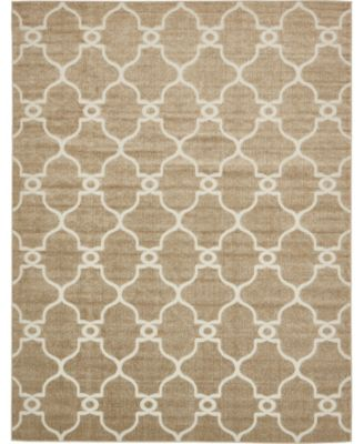 Pashio Pas2 Light Brown 6' x 9' Area Rug