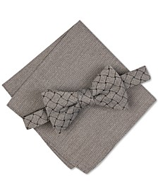 Men's Solid Mode Bow Tie, Created For Macy's