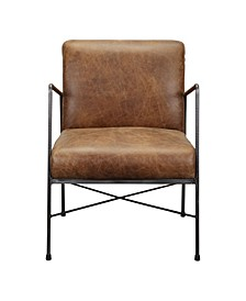 Moes Home Collection Dagwood Leather Arm Chair