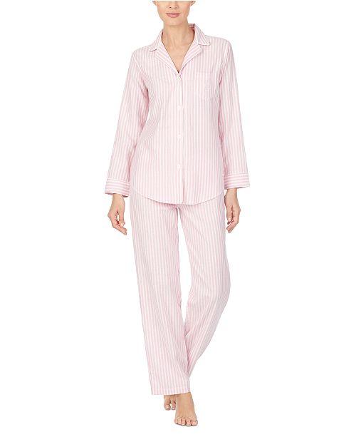 Lauren Ralph Lauren Women's Brushed Pajama Set