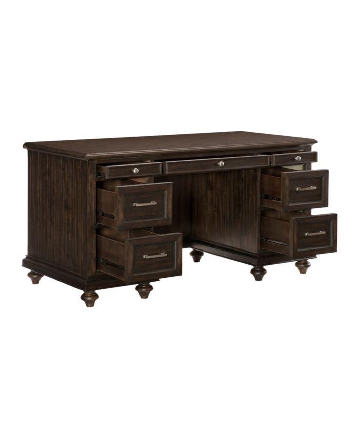 Furniture Seldovia Executive Desk & Reviews - Furniture - Macy's