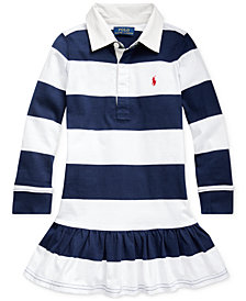 Polo Ralph Lauren Little Girls Rugby Jersey Dress