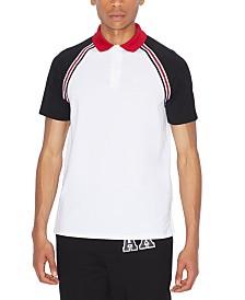 A X Armani Exchange Men's Colorblocked Polo Shirt