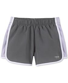 Big Girls Slim-Fit Colorblocked Sport Shorts