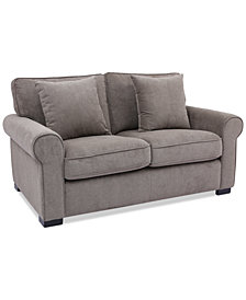"Ladlow 65"" Fabric Loveseat, Created for Macy's"