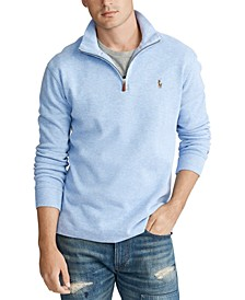 Men's Big & Tall Estate-Rib Quarter-Zip Pullover