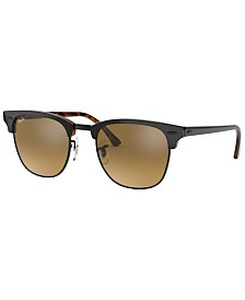 Ray-Ban CLUBMASTER Sunglasses, RB3016 51