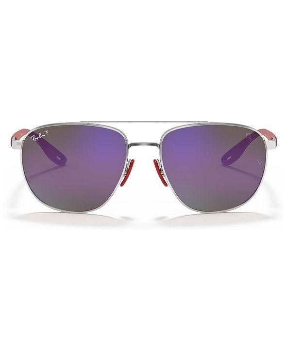 Ray-Ban Polarized Sunglasses, RB3659M 57