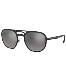 Ray-Ban Polarized Sunglasses, RB4321CH 53