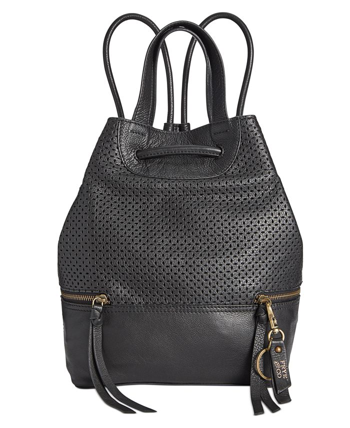 Frye and Co. - Anise Perforated Leather Backpack