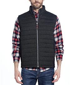 Weatherproof Vintage Men's Quilted Sweater Vest