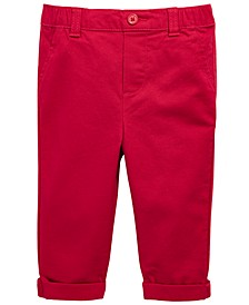 Baby Boys Stretch Chino Pants, Created For Macy's