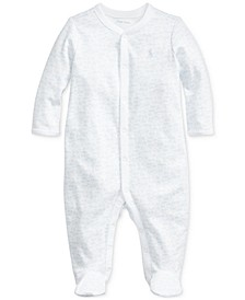 Baby Boys Printed Interlock One Piece Coverall