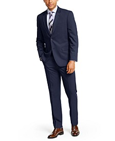 Solid Modern-Fit Big and Tall Suit