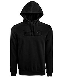 Men's Embroidered-Logo Fleece Hoodie