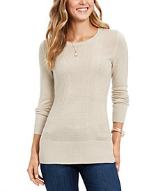 Mixed-Stitch Sweater, Created for Macy's