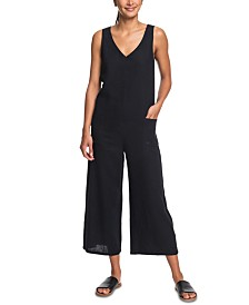 Roxy Juniors' Solid Jumpsuit