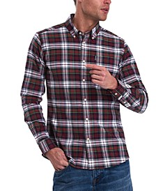 Men's Tailored-Fit Highland Check Shirt