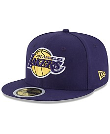New Era Big Boys Los Angeles Lakers Basic 59FIFTY Fitted Cap