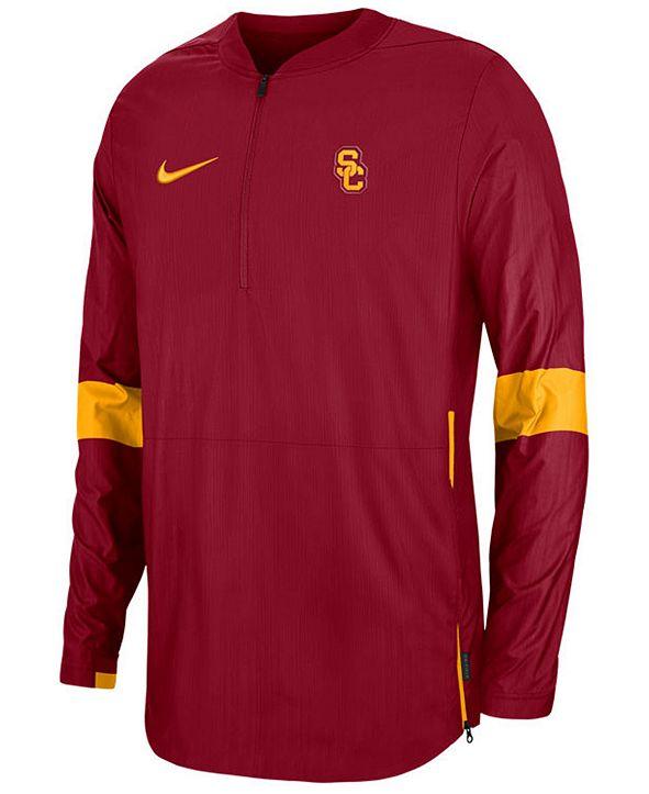 Nike Men's USC Trojans Lightweight Coaches Jacket