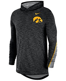 Men's Iowa Hawkeyes Hooded Sideline Long Sleeve T-Shirt