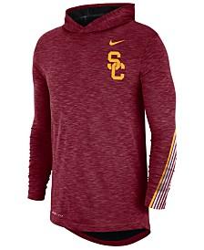 Nike Men's USC Trojans Hooded Sideline Long Sleeve T-Shirt