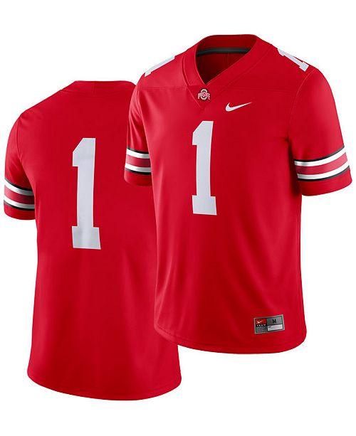 Nike Men's Ohio State Buckeyes Football Replica Game Jersey
